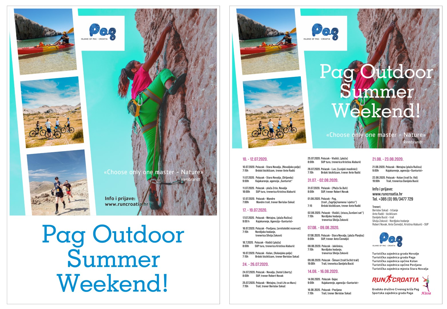 Aktivno ljeto na otoku Pagu – kreće Pag Outdoor Summer Weekend!